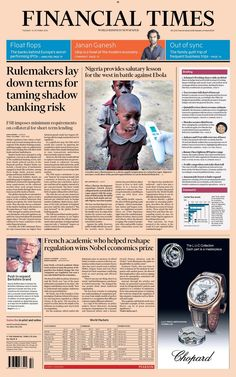 Financial Times - 14.10.14