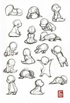 baby, draw, and cute image
