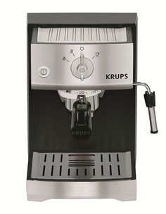 KRUPS XP5220 Pump Espresso Machine with KRUPS Precise Tamp Technology and Stainless Steel Control Panel, Black *** This is an Amazon Affiliate link. To view further for this item, visit the image link.