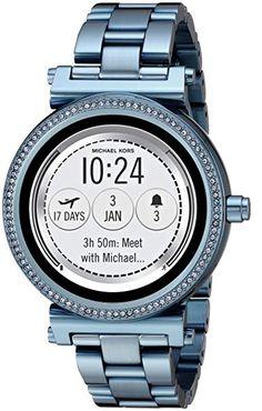 Michael Kors Access Women s  Sofie Touchscreen  Quartz Stainless Steel  Casual Watch, Color Blue 81b4e2d0d7