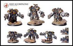 Red Scorpions Centurion Assault Squad | Flickr - Photo Sharing!