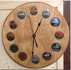 Dip can clock