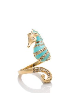 paradise found seahorse ring - Kate Spade New York