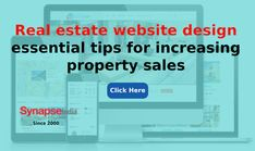 Increase property sales of a REAL ESTATE WEBSITE by adding creative and innovative features.   Avail the service of WEBSITE DESIGN COMPANY like SynapseIndia to bring substantial growth to property business. Real Estate Website Design, Website Design Company, Web Design Tips, Property For Sale, Bar Chart, Innovation, Ads, Business, Creative