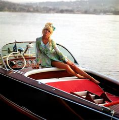 Brigitte Bardot et un bateau | 24 Femmes Per Second