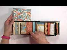 Mini Album - Graphic 45: Mother Goose - By Ginger Ropp, My Sisters Scrapper. Beautifully crafted and great use of the coordinating papers!