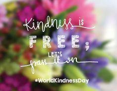 Kindness is the language which the deaf can hear and the blind can see. To celebrate World Kindness Day, here are 100 ways to be a kindness ninja World Kindness Day, Kindness Matters, Kindness Quotes, Best Quotes, Life Quotes, Favorite Quotes, Week Schedule, Happy Thoughts, Wise Words