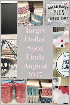 Target Dollar Spot Finds August 2017
