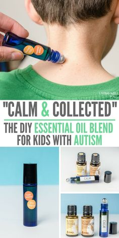 This DIY essential oil blend has made an amazing difference for my autistic son. Since using these essential oils, his outbursts are drastically reduced and he's much calmer! It also calms him quickly if he gets anxious or stressed. Highly recommend for kids with autism, ADD, ADHD, or anyone who needs calming (moms too!)