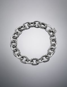 Medium Oval Link Chain Bracelet   Collections Chain   David Yurman Official Store