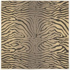 Add an exotic touch to your decor with the Liora Manne Terrace Zebra-Stripes Indoor/Outdoor Rug featuring a zebra-style print. Designer Liora Manne interprets the bold safari motif in a striking fashion perfect for enhancing your home.