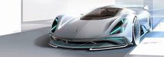 PORSCHE Electric Le Mans 2035 Concept