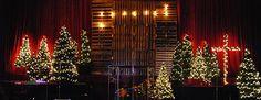 Mason Jar Advent Calendar | Church Stage Design Ideas
