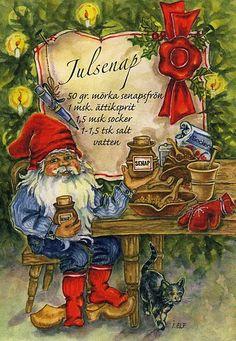 ˇˇJulsenap måste man ha på julbordet