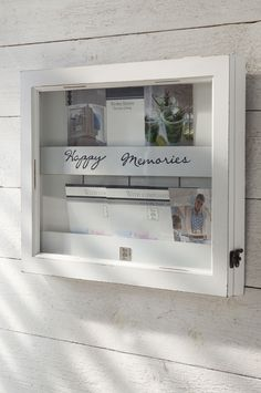 Riviera Maison Memory holder at Snuggles-Cottage Snuggles, Rivera Maison, Memory Wall, Wall Boxes, Coastal Style, Photo Displays, Home And Living, Interior Inspiration, Sweet Home