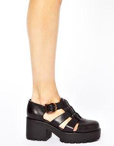 Enlarge Vagabond Dioon Black Leather Heeled Shoes