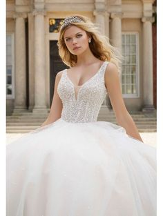 ac3348375752 135 Best Ball Gown Style Wedding Dresses images in 2019