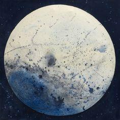 """Saatchi Online Artist France McNeil; Painting, """"Voyage dans la lune"""" #art"""
