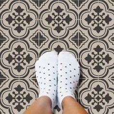 cement-tile-stencil-design-floor-DIY-stencils