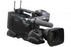SONY PDW-F800 - Our most popular ENG camera provides MPEG HD422, 1920x1080, 30 & 24p, & recording to dual-layer XDCAM discs.