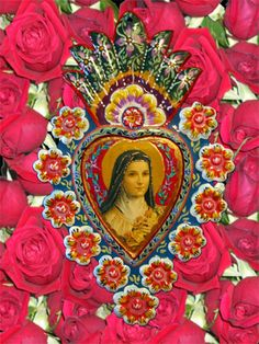 St. Therese of Liseux, the Little Flower ~    Feast day October 1~ She is the patron of florists and has promised to send a flower, most frequently a rose, to those who petition her.