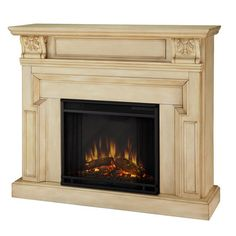 I pinned this Chesterfield Electric Fireplace from the Cozy Cottage event at Joss and Main! 650