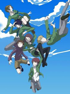 Digimon Adventure Tri #02 gang