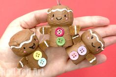Cork Gingerbread Man Ornament - Red Ted Art - Make crafting with kids easy & fun Cork Ornaments, Ornament Crafts, Diy Christmas Ornaments, Christmas Decorations, Wine Cork Art, Wine Cork Crafts, Wine Corks, Gingerbread Crafts, Gingerbread Man