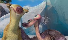 The way Granny is portrayed in Disney's Ice Age: Continental Drift offers comedic relief and makes dementia more accessible through its hilarious moments.