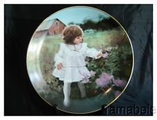 Ribbons and Roses by Donald Zolan Children Pemberton Oakes Full Porcelain Plate