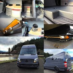 Relax, rest and enjoy this #handcrafted #2015 #sprinter #vanconversion!  Check our website for further detail about this rocking van!
