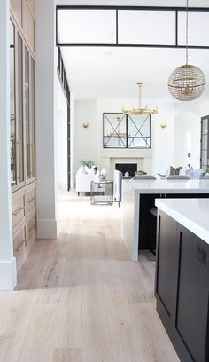 Living Room Progress, Styled for Summer - The House of Silver Lining Contemporary home design with stunning steel transoms Farmhouse Style Kitchen, Modern Farmhouse Kitchens, Rustic Farmhouse, Fashion Room, Home Fashion, Estilo California, Decoration Bedroom, Küchen Design, Design Styles