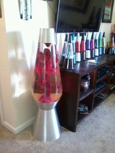 6 foot lava lamps for sale Big Lava Lamp, Purple Lava Lamp, Cool Lava Lamps, Led Floor Lamp, Cool Floor Lamps, Kitsch, 60s Theme, Bathroom Wall Cabinets, Adjustable Floor Lamp
