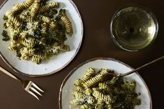 Who knew breadcrumbs could make such a luscious pesto? This recipe from chef Massimo Bottura veers from the traditional basil-pine nuts formula for a pasta sauce that's a little lighter and full of flavor.