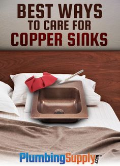 Learn the best ways to clean your copper sink and make sure it retains the natural beauty you love for years to come at PlumbingSupply.com®.
