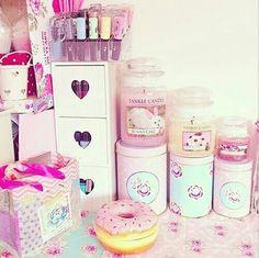 Pink stuff #girly #cute #room #littlest