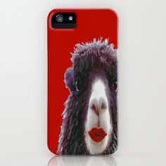 Llama Lover iPhone & iPod Case by Rokin Art by RokinRonda - $35.00