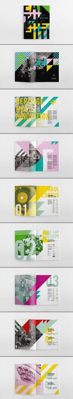 The Futurist Kitschen booklet // Garry Calderwood