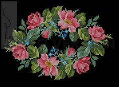 ru / Fotoğraf - Need perootshiv - potok mm Cross Stitching, Cross Stitch Embroidery, Hand Embroidery, Baby Cross Stitch Patterns, Cross Stitch Charts, Cross Stitch Tree, Cross Stitch Flowers, Retro Flowers, Summer Crafts