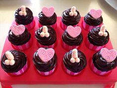 Hens night cupcakes.     Www.facebook.com/amandascreativecreations