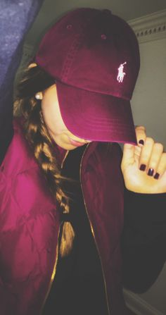 *ISO maroon polo hat Just looking for I do not own this. Any help would be helpful only looking for this color Polo by Ralph Lauren Accessories Hats Tomboy Fashion, Look Fashion, Womens Fashion, Fashion Trends, Pastel Outfit, Fall Outfits, Cute Outfits, Robes Vintage, Le Polo
