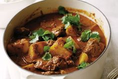 This hearty winter Lamb & potato curry by Rick Stein Lamb Recipes, Curry Recipes, Indian Food Recipes, Cooking Recipes, Ethnic Recipes, Cooking Time, Asian Recipes, Turmeric Recipes, Entree Recipes