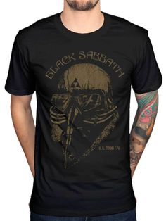 mens haircut 2017 Creative Black Sabbath Us Tour 78 Avengers T Shirt Iron Man Ozzy Osbourne Merch Design T Shirt Hipster Tops Cool Art Tees -- Detailed information can be found on AliExpress website by clicking on the image