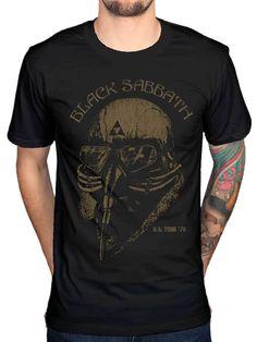 b338210a Details about Black Sabbath T Shirt US Tour 78 band logo ozzy the end 2016  official mens new