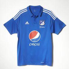 Camiseta Millonarios Home 2016 - Blue