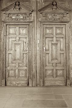 Antique doors.