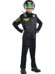 Childu0027s Swat Team Costume | Pinterest | Team costumes Swat and Children s  sc 1 st  Pinterest & Childu0027s Swat Team Costume | Pinterest | Team costumes Swat and ...
