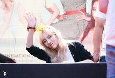 Midnight Blue, By_꽃숑 (@Rhctyd) :: 150827 소녀시대 lion heart 대전 팬싸인회