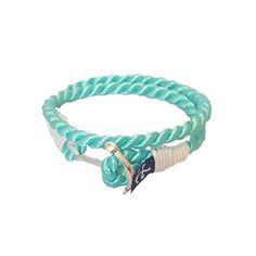 Aqua Rope Nautical Bracelet sold by Bran Marion. Shop more products from Bran Marion on Storenvy, the home of independent small businesses all over the world. Nautical Bracelet, Nautical Rope, Turquoise Bracelet, Aqua, Take That, Trending Outfits, Unique Jewelry, Bracelets, Water