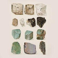 Designspiration — Helen Anna - Journal. Rocks, turqoise